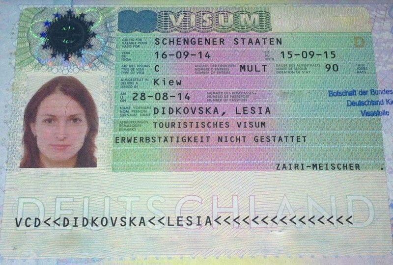 Как сделать шенгенскую визу германия